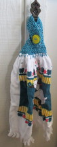 Kitchen Towel with Crocheted Top - Ducks - $4.00