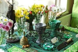 Grow Wealth Spell Casting Guaranteed Money Luck Success Wicca Pagan Ritual OOAK image 11