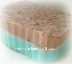 mint chocolate glycerin soap, soap, bath, beauty, handmade soap, glyceri... - $5.00