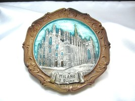 COLLECTABAL DECORATIVE Milano church clay mode plate from Jerusalem Holy... - $14.99