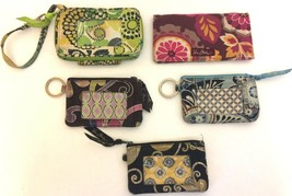Vera Bradley Lot of 5 Wallets Coin Purses & Checkbook Cover Various Patterns - $24.99