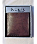 Rolfs Brown Bifold Wallet in Box NWT - $29.95
