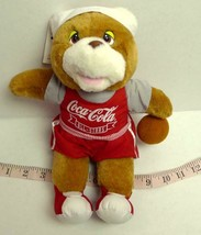 "Coca Cola ALL STARS Teddy Bear Vintage 1993 11"" Utah Jazz Basketball Game - $12.35"
