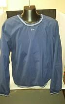 Nike Golf Mens Pullover: Blue Shell, Sweatshirt Swoosh Medium M FREE SHIPPING - $18.37