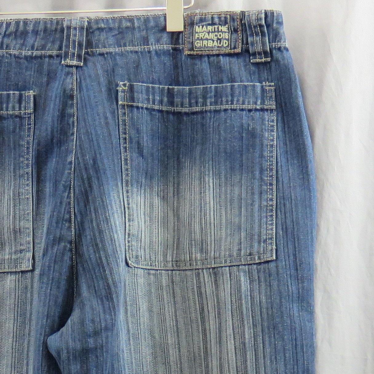 b8e36bda Marithe Francois Girbaud Blue Jeans 40x34 And 50 Similar Items. Vtg 90s  Marithe Francois Girbaud Mens 38 Graffiti Spellout ...