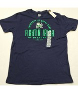 NWT Notre Dame Fighting Irish Men's Blue Pro Edge T-Shirt Large New With... - $14.84