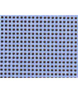 Sky Blue 14ct Painted perforated paper PP22 9x1... - $5.40