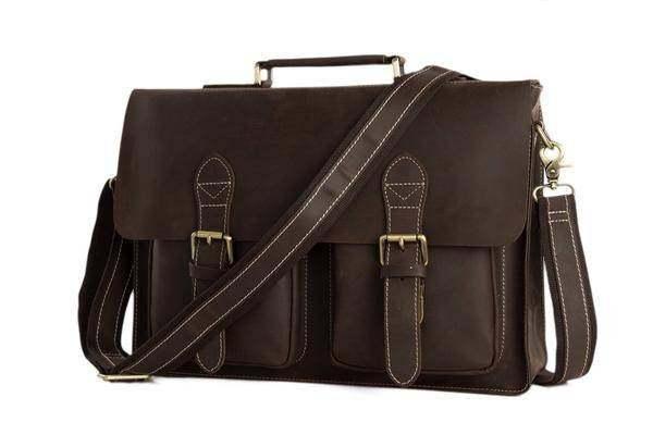 Sale, HandMade Leather Laptop Bag, Leather Briefcase, Business HandBag, Men's Me image 2