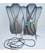 Vintage Bolo Tie Collection Lot Braided cord usable & craft repair Western - $15.00
