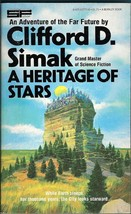 A Heritage of Stars by Clifford D. Simak 1978 vintage Sci-Fi - $3.75