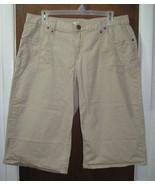 Womens Size 20W Khaki Tan Cato Capri Pants - $17.99