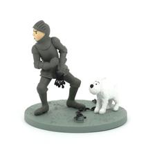 Tintin and Snowy armour plastic boxset Tintin in America New