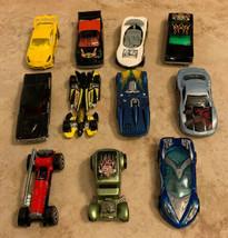 Vintage Hot Wheels 1988-2001 Toy Cars Die Cast Race Cars Mattel Lot Of 11 - $6.92