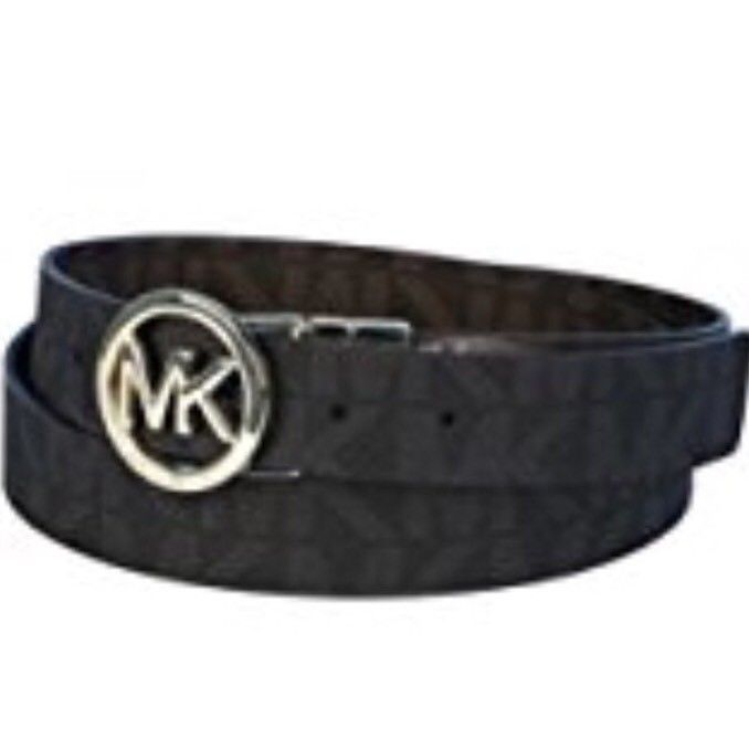 124a7d6b1518a MICHAEL KORS Monogrammed Belt Reversible and 50 similar items. S l1600