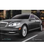 2012 Mercedes-Benz S-CLASS brochure catalog 350 400 HYBRID 550 600 S63 S... - $12.00