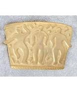 JJ 1988 Elegant Ancient Civilization Dancer Brooch - $19.95