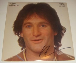 """Robin Williams signed """"Reality What A Concept"""" signed Album  - $93.35"""