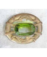 Elegant Antique Victorian Exquisite Olive Cut G... - $79.95