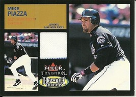 2003 Fleer Tradition Update Throwback Threads 5 card set missing one card - $15.00