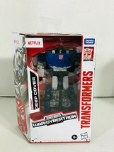 Transformers Autobot Deep Cover Netflix War for Cybertron Hasbro Action ... - $36.97