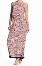 NEW Nine West Women's Sleeveless Blouson Maxi Dress - Graphic Multi-Colo... - $28.41