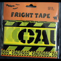 Zombie Prop Building-CAUTION-Barricade Fright Tape-Costume Party Decorat... - $3.93