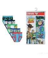 Disney Toy Story 4 Boy's 5-Pack Tag Free Cotton Brief Underwear Size 6 - $12.85