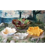 LEAFY CERAMIC FOURSOME OF TABLE SERVICE – BRANCH OUT WITH HANDSOME AUTUM... - $124.95