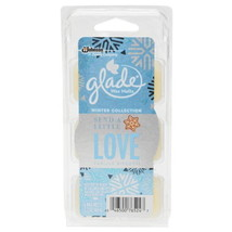6 Cubes Glade Vanilla Biscotti Wax Melts Send A Little Love Air Freshene... - $11.60