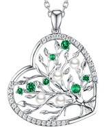 ReBesta Jewelry For Women June Birthstone White Pearl The Tree Of Life N... - $133.15