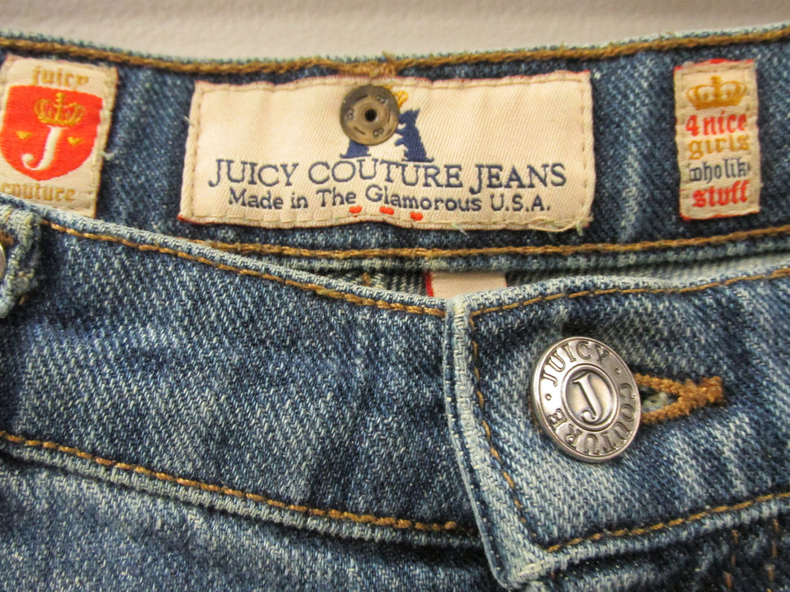 Vintage Flare Juicy Couture Jeans, Size 29 image 2