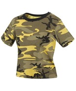 Rothco Womens Stinger Yellow Camo Crop Top 1944 - $9.99