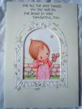 Vintage Hallmark Betsey Clark Mothers Day Card 1980s - $4.99