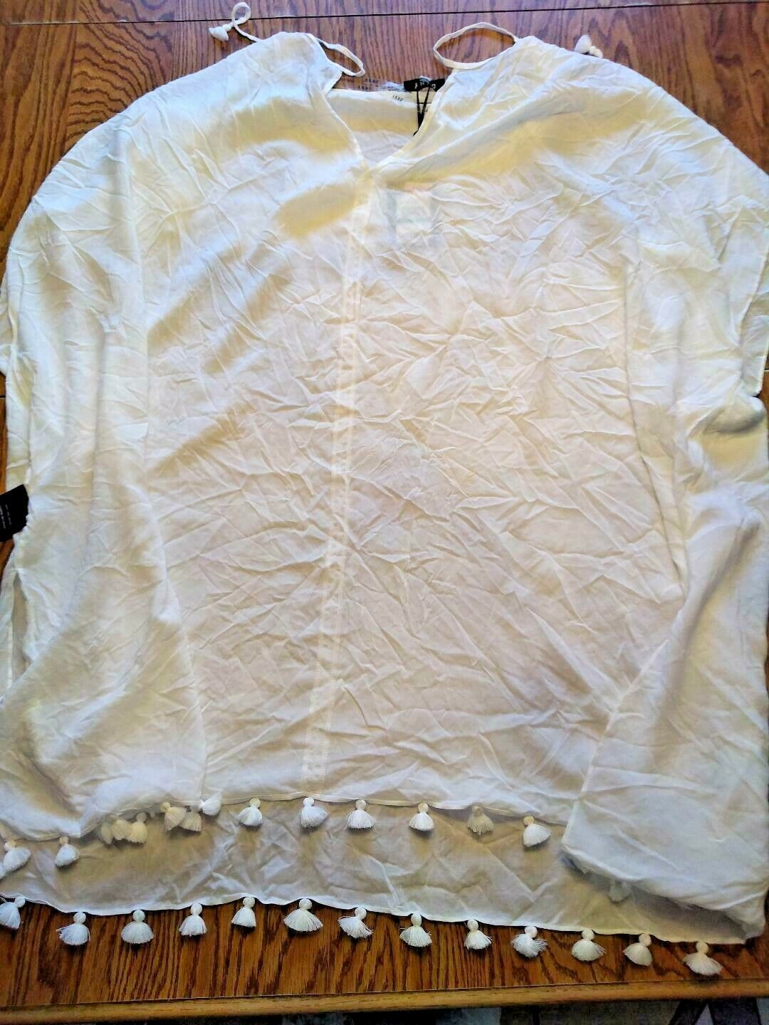 DKNY Ivy Beach Cover Up Size Large