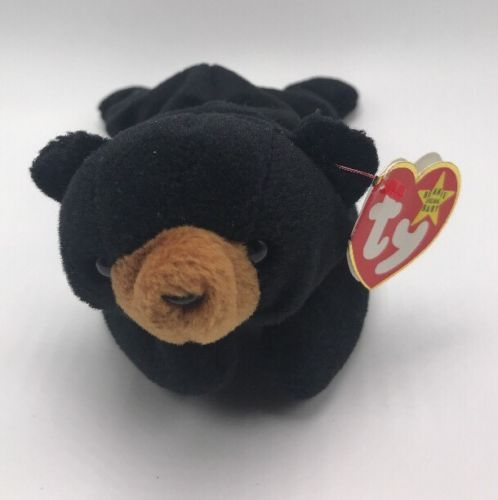 9d834353253 Ty Beanie Baby Blackie The Bear 1994 Date and 50 similar items. 12