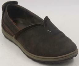 Merrell Ashland Coffee Bean Brown Leather Slip-ons J42786 Women's Shoes ... - $9.49