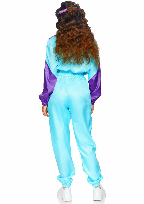 Leg Avenue Sorprendente 80s Chándal Retro Adulto Mujer Disfraz Halloween 86813 image 4