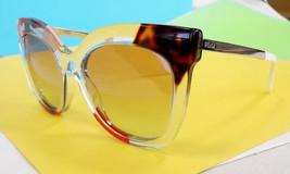 FENDI Women's Sunglasses FF0179/S Clear Print/Silver 53-18-140 MADE IN I... - $199.95