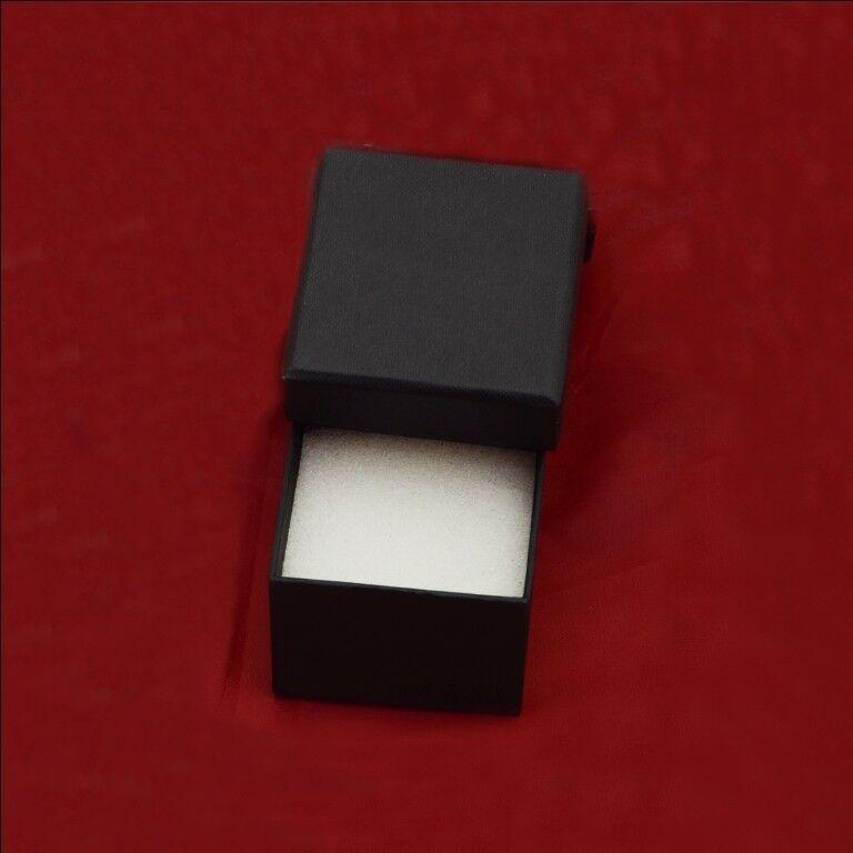Round Cut CZ Gemstone Black Rhodium Plated 925 Silver Hoop Dangle Party Earring
