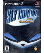 Playstation 2 - Sly Cooper And the Thievius Raccoonus - $9.95