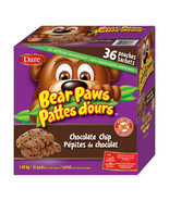 Dare Bear Paws Chocolate Chip Cookies, 36packs, 1.44kg/3.2lbs, CANADA FRESH - $31.67