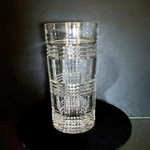 1 (One) RALPH LAUREN GLEN PLAID Lead Crystal Highball Glass Older Heavy ... - $15.33