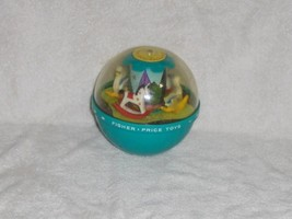 VINTAGE 1966 FISHER PRICE ROLY POLY CHIME BALL GUC - $7.59