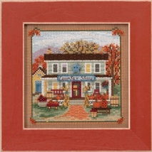 Country Store 2017 Autumn Series Buttons and Beads cross stitch kit  Mill Hill - $12.60