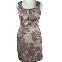 Ann Taylor Loft Petites Summer Dress Sleeveless Scoop Neck Pockets Pale ... - $37.36