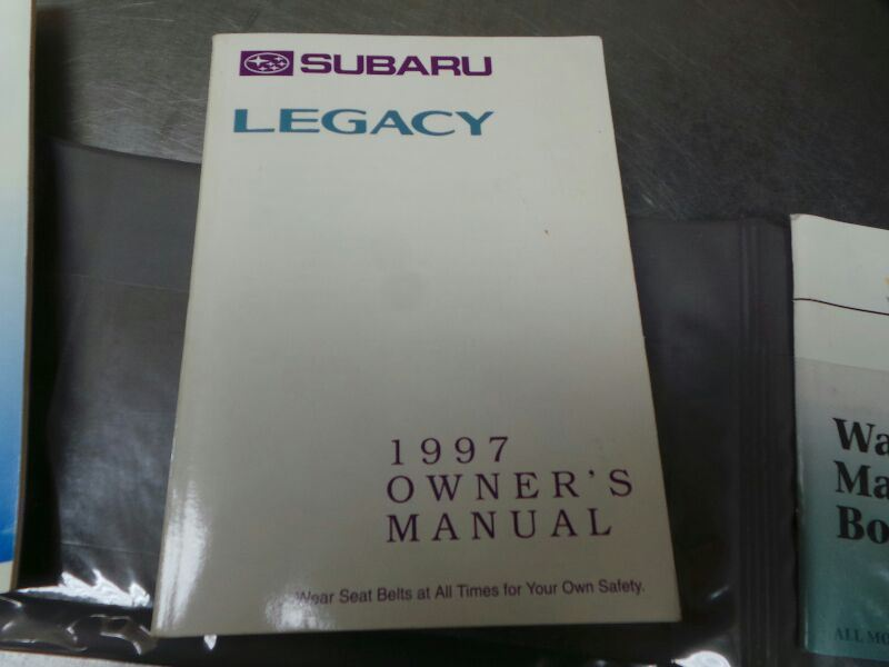 1997 subaru legacy owner s manual set in and similar items rh bonanza com 97 Subaru Impreza 97 Subaru Outback
