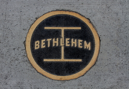 Bethlehem Steel  Fahy Bridge Sidewalk Logo 13 x 19 Unmatted Photograph - $35.00