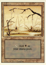 Magic: The Gathering 3rd Edition - Swamp (A) - $0.39