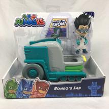 PJ Masks Romeo's Lab Truck & Romeo Figure Vehicle By Just Play NEW - $25.94