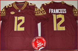 12 Deondre Francois - Florida State Seminoles football Stitched Jersey #RED - $40.00